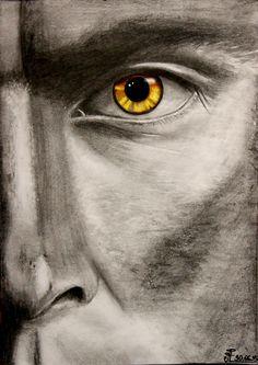 Teen Wolf, season 5, Jordan Parrish, Ryan Kelley, my art, drawing