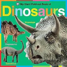 My Giant Fold-Out Book of Dinosaurs (Board) - $8.99