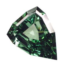 Carat green diamond.