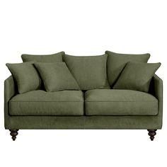 Canapé convertible 3 places LAZARE, mélange viscose.Fabrication italienne.Un canapé très élégant sous influence classique, totalement actualisé !Confort d'assise : accueil moelleux, soutien souple.Confort dossier : moelleux et enveloppant.Assise : hauteur et profondeur standard.Dimensions du canapé LAZARE :- L184 x H93 x P105 cm (avec 3 coussins de dossier et 2 coussins d'assises + 3 coussins d'appoint).- Assise : L165 x H45 x P50 cm.- Dimensions du couchage : larg. 140 x Long. 185…