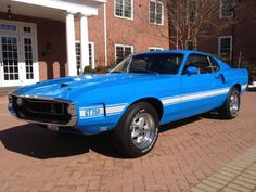 1969 Shelby Cobra GT-350 Ford Mustang Fastback 4 Speed Restored - CarBiid.com