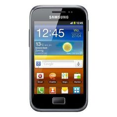 "Samsung Galaxy Ace Plus S7500 Dark Blue  Android, 3.65"" Touchscreen, flashlight"
