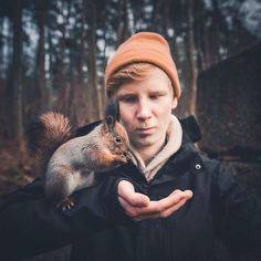 21-Year-Old Photographer Captures Intimate, Soulful Portraits of Wild Forest Animals - My Modern Met