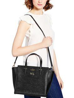 #cedarstreethayden #black #bag #gift #idea #KateSpade #monogram