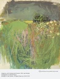 Hedgerow with Grasses and Flowers by Joan Kathleen Harding Eardley National Galleries of Scotland Date painted: Gouache & oil on paper, x 33 cm Paintings I Love, Your Paintings, Indian Paintings, Landscape Art, Landscape Paintings, Watercolor Landscape, Abstract Expressionism, Abstract Art, Abstract Paintings