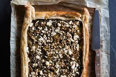 Leek and mushroom tart recipe, Herald on Sunday – One of our alltime favourites is this mushroom and leek tart It is super simple to whip up and it is great for lunch and dinner – bite.co.nz
