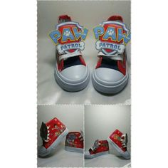 Limited Edition PAW PATROL Birthday Party Shoe (Red)