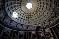 """The Pantheon (meaning """"temple of every god""""), is a former Roman temple, now a church, in Rome, Italy. It is one of the best-preserved of all Ancient Roman buildings, in large part because it has been in continuous use throughout its history. #pantheon #rome #roma #italy #temple #church #architecture #hdr #photography #wallart #artprint #homedecor"""