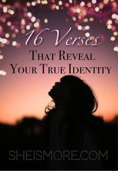 """""""I never understood that God saw me a different way than I saw myself until a few years ago. I learned that I was seeing myself through eyes of betrayal, hurt and rejection and in turn was constantly striving for approval and perfection."""" Read more at sheismore.com #love #God #identity"""