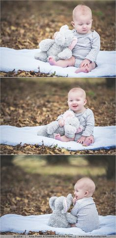 ©2014 | www.AmaByAisha.com | Texas photographer | 7 months old baby portraits | cutest baby!
