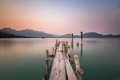 Wooden Pier by JTstudio Canon Eos, Thailand
