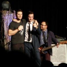 Jensen and Gil McKinney, VegasCon2015, Sat Night Special