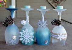 Afbeeldingsresultaat voor wine glass candle holders