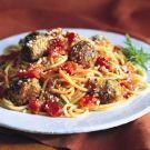 Try the Spaghetti with Meatballs Recipe on williams-sonoma.com