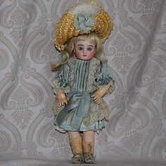 French Series C Steiner Doll with Trunk and Wardrobe (item #1270367) #dollshopsunited