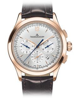 Jaeger-LeCoultre Master Chronograph- very classy!