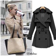 #tbdressreviews #Fashion #Outwear #Clothes #TrenchCoat #Women #tbdress.