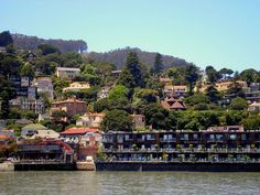 Sausalito, CA (just over the bridge from San Fran. - enchanting little harbor town) California Travel Guide, California Trip, Northern California, Vacation Places, Vacation Destinations, Harbor Town, Yosemite Valley, Best Hotels, Travel Usa