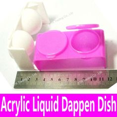 1 piece New Double Lips Dappen Dish for Mixing Acrylic Liquid and Acrylic Powder Plastics Nail Art Tools White Pink Bowl Cup Kit-in Acrylic Powders & Liquids from Health & Beauty on Aliexpress.com | Alibaba Group