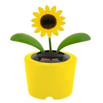 Midress Solar Powered Dancing Flowers Solar Dancing Toy Mini Solar Powered Swinging Cute for Car Decoration,Sun Flower Decoration Toy I