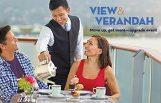 """""""We create our promotions around experiences so cruisers can build their own dream vacation with onboard and shoreside opportunities packaged into a wonderful vacation value,"""" said Orlando Ashford, president of Holland America Line. """"With eligible View and Verandah cruises extending well into 2018, this promotion also is beneficial for those who like to plan their vacations in advance, providing even more incentive to book early."""""""