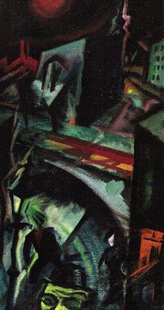 germanexpressionism: George Grosz - Nocturne (oil on canvas, 1915) (via)