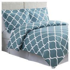 Found it at AllModern - Banff Duvet Cover Set in Laguna Blue