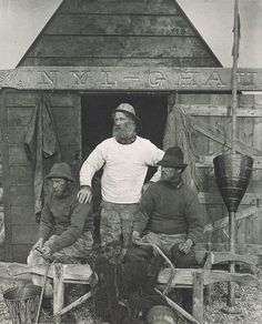 """eastmanhouse: """" Peter Henry Emerson (English, East Coast Fishermen, ca. Born in Cuba to an American father and English mother, Peter Henry Emerson returned to England at age 13 with his mother after. Emerson, Falmouth, Vintage Photographs, Vintage Images, Vintage Men, Vintage Style, Old Pictures, Old Photos, Cuba"""