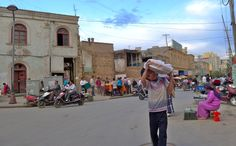 The Kashgar Old Town streets.