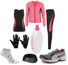 Ladies, get this entire running outfit for under £60! Including #Karrimor and #Puma #Running http://www.sportsdirect.com/pages/running