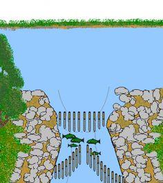 Stick Fish Traps