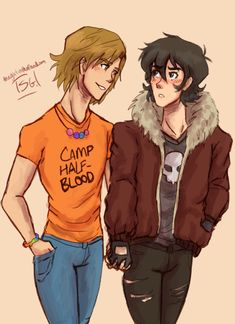 Nico and Will--- Nico looks a lot like Varian in this picture.