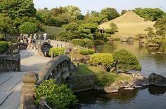 Suizenji Jojuen  สวนญี่ปุ่นแห่ง Kumamoto