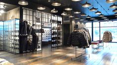 Kith shoe store by Cleanroom, Brooklyn