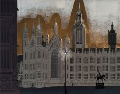 Palace of Westminster - Edward Bawden