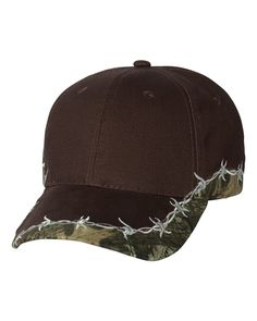 Outdoor Cap Barbed Wire Camo Cap. BRB605 -- Find out more about the great product at the image link.