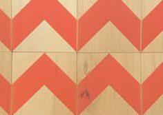 paneles zigzag - serigrafiado a mano - wall decor, hand made - screenprinted!