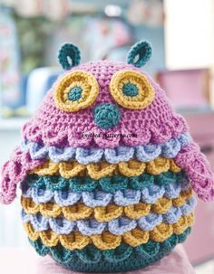 Crochet Owl- FREE pattern                                                                                                                                                                                 More