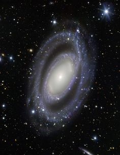 NGC 7098 - Double Barred Spiral Galaxy In this image, taken by ESO's Very Large Telescope at Paranal Observatory, you can see NGC 7098. It is a double ... - Yeter Yılmaz - Google+