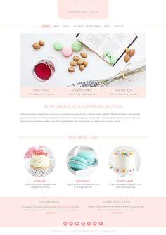 Naomi - Pastry WordPress Theme by Bluchic on Creative Market
