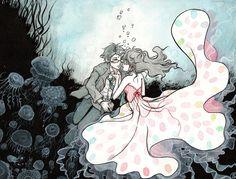 kuragehime by mementomoryo on DeviantArt Manga Art, Anime Art, Daytime Shooting Star, See You Space Cowboy, Princess Jellyfish, Blue Springs Ride, Horimiya, Cardcaptor Sakura, Awesome Anime