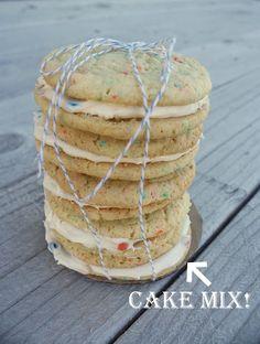 cake mix cookies: a funfetti birthday treat