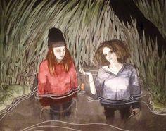 RA Summer Exhibition 2016 work 869: SWAMP LIGHT by Marleen Suzanne de Graaf, £0. #RASummer