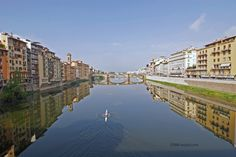 On the Arno in Florence