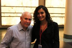 With Steve McCurry by Ros@pugliese, via Flickr