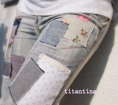 RUMS Premiere: DiY Patchwork Jeans