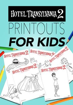 If your kids like coloring as much as my boy does, our Hotel Transylvania Transylvania Movie, Dracula Hotel Transylvania, Hotel Transylvania Birthday, Halloween Crafts For Kids, Halloween Party, Birthday Board, Girl Birthday, Birthday Party Decorations, Party Themes