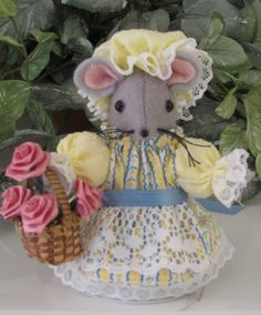 Sadie MumseyMouse...A Gardening Mouse for your House.