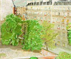 La Muette, Un 14 Juillet by Maurice Brianchon (France)