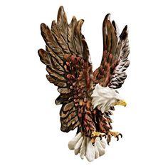 Design Toscano Libertys Flight Eagle Wall Sculpture - KY7870